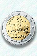 The Abduction of Europa on the two Euro coin